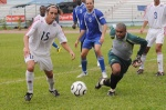 Leonel Duarte anotó dos goles en el triunfo cubano