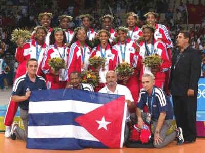 Equipo cubano de voleibol femenino