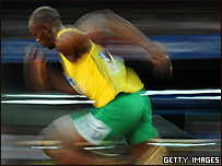 Usain Bolt asombró al mundo con sus récords mundiales