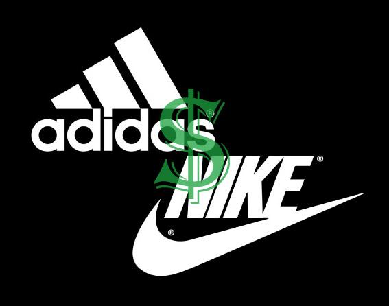 NIKE vs. Adidas.