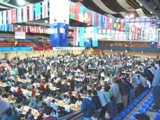 La Olimpiada Mundial de ajedrez reúne a los mejores ajedrecistas del mundo