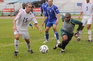 Leonel Duarte tiene un puesto seguro en la delantera del equipo