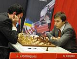 Leinier cayó ante Karjakin y culminó en el sexto lugar