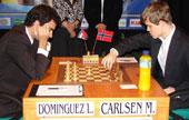 Carlsen, un prodigio esquivo para Leinier