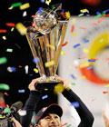 Ichiro celebra el título, aunque Matsuzaka fue el MVP
