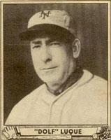 Adolfo Luque, uno de los imprescindibles del béisbol cubano