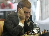 Leinier Domínguez, gran concentración para igualar ante Topalov
