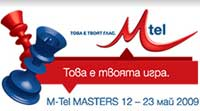 Logo del súper torneo M-Tel Masters