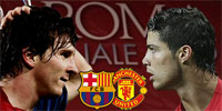 Messi-Ronaldo: el gran duelo sobre el césped