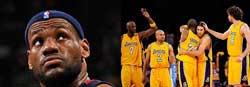Todos esperábamos el duelo LeBron vs Kobe...será en otro momento