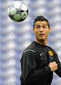 Cristiano Ronaldo vestirá de blanco