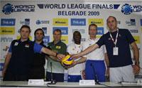 Seis coaches en busca del título de la Liga Mundial