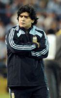 Diego...muy cerca de perder su trabajo. Lástima
