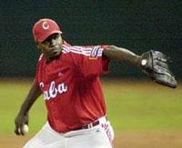 Lazo se reafirma como el mejor lanzador cubano