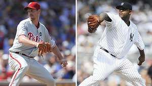 El gran duelo Cliff Lee vs. CC Sabathia