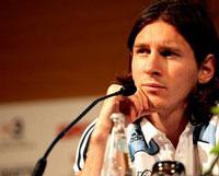 Messi...tal vez nunca más juegue en una Olimpiada