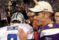Tony Romo...¡Yo también estoy muy decepcionado por el 34-3!