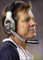Norv Turner y los Chargers ¿favoritos al SuperBowl?