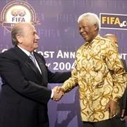 Mandela y Blatter