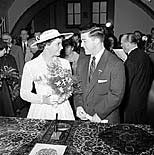 La boda entre Olga y Harold