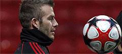 David Beckham, otro gran ausente del Mundial 2010