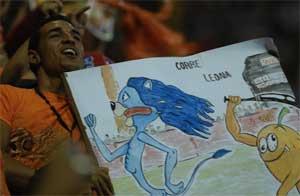 Los fanáticos villaclareños disfrutaron el triunfo de su equipo