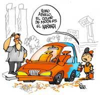 El color naranja...sin dudas el más popular fuera de La Habana