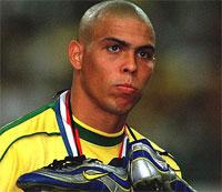 Ronaldo...muy admirado en Francia 1998