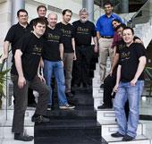 El equipo de trabajo de Anand