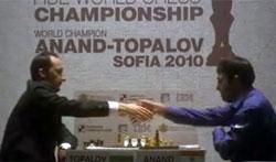 Topalov lo intentó con mucha fuerza; pero Vichy fue mejor
