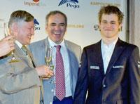 Karpov, Kasparov y Carlsen