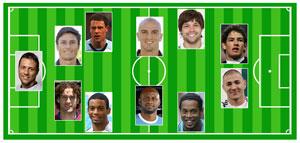 """El once """"ideal"""" que no jugará el Mundial (foto del diario Marca)"""