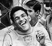 Garrincha...un gran futbolista sobre el terreno