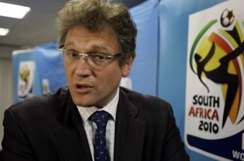 Valcke y Blatter parecen coincidir en la no reducción de plazas para Sudamérica en 2014