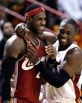 LeBron-Wade, nuevos compañeros de equipo