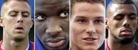 Los nuevos rostros del fútbol francés