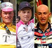 """¿Se unirá el rostro de Contador a estos """"ilustres"""" del ciclismo?"""