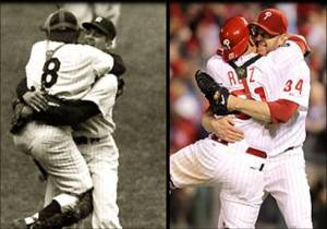 Dos momentos inolvidables: Larsen, en 1956, Halladay, en 2010