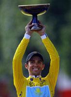 Contador podría volver al Tour de Francia 2011