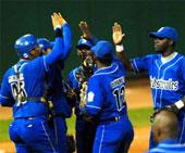 Esta imagen se ha repetido pocas veces en la parte final de la 50 Serie Nacional de béisbol