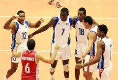 Cuba logró su tercer triunfo consecutivo en la Liga Mundial de voleibol 2011