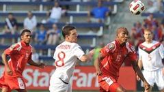 Panamá aseguró el primer lugar del grupo C en el último minuto ante Canadá